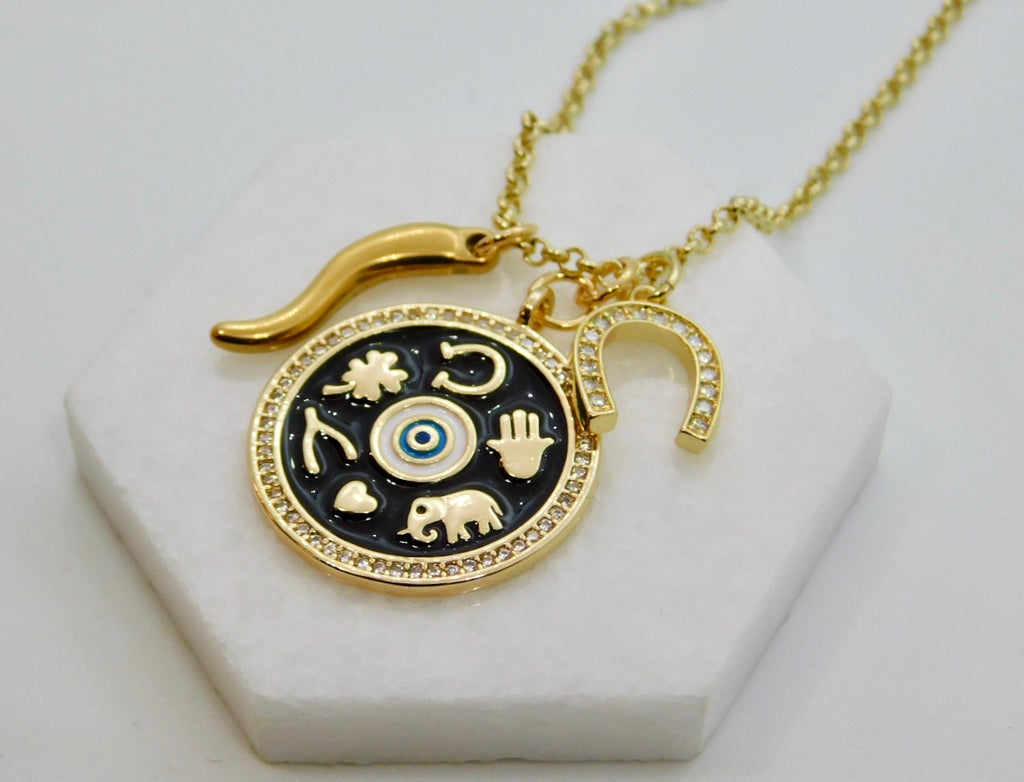 Good Luck Talisman Charm Necklace