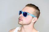 LBW Blue Sunglasses with Blue Tint