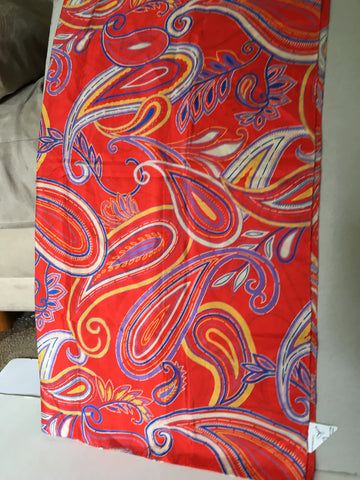 Scarf with paisley yet mod pattern - Stop Making Senz a Maker Studio