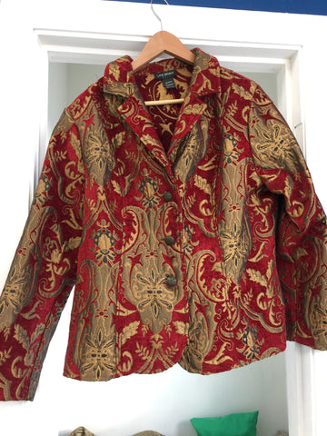 Tapestry theme jacket XL - Stop Making Senz a Maker Studio