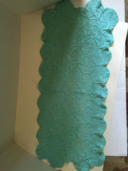 Crocheted Doily Turquoise Color an Updated Classic