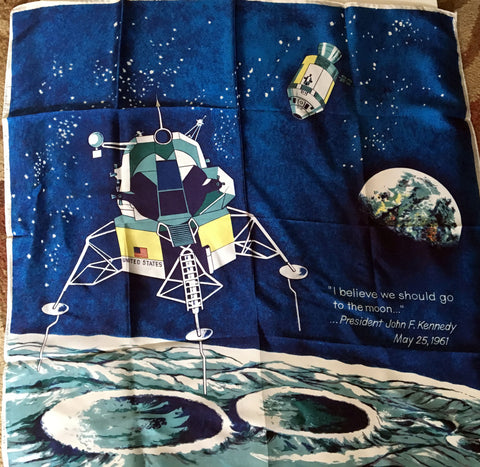 Hommage scarf to NASA space exploration - Stop Making Senz a Maker Studio
