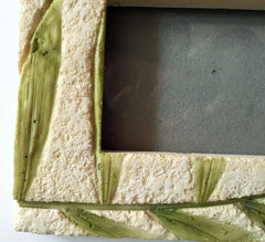 Concrete Plant Fossil-like Picture Frame