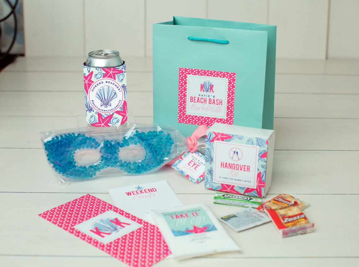 Preppy Seaside Bachelorette Bag