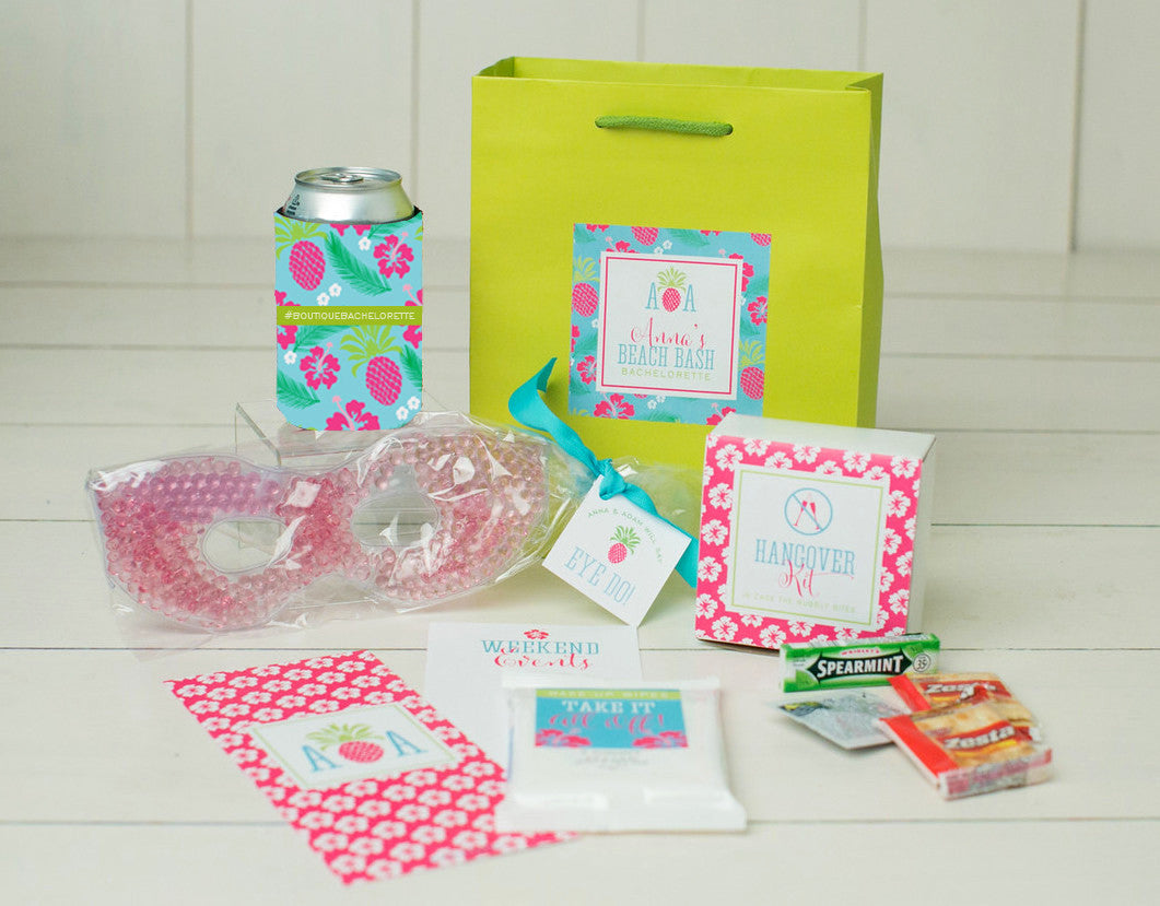 Tropical Bachelorette Party Swag Bag