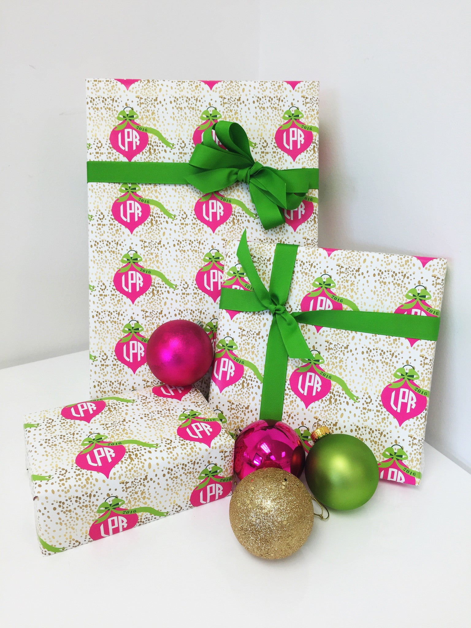 Ornament Gift Wrap