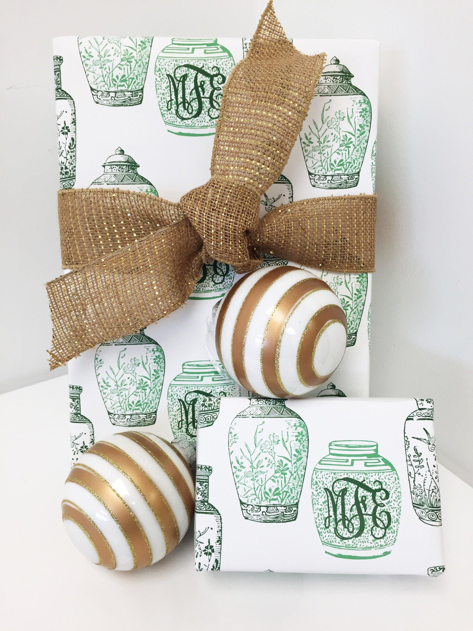 Ginger Jar Gift Wrap