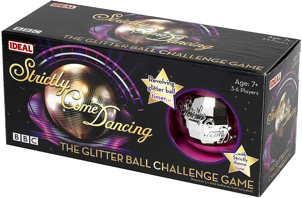 John Adams 10734 Strictly Come Dancing-Glitter Ball Challenge Game
