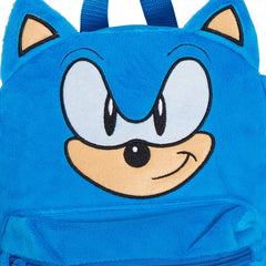 Official Sonic The Hedgehog 3D Plush Backpack