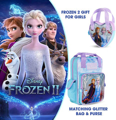 Disney Frozen 2 Backpack & Purse for Girls Anna and Elsa