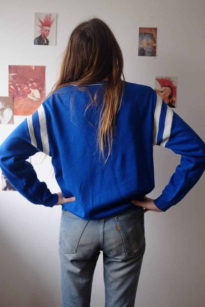 Mick blue/white Sweatshirt