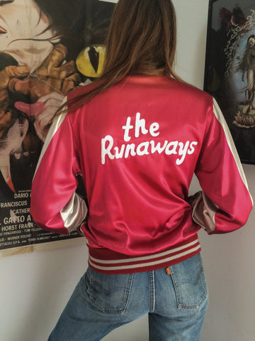 Silver & Crimson Runaways Jacket