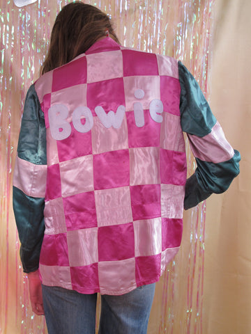 Pink/Green Checkered Bowie Jacket