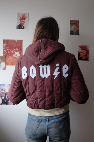 Reversible Quilted Bowie Jacket