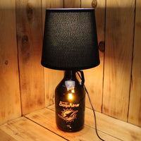 Miami Dolphins Football Beer Growler Lamp with Night Light with shade