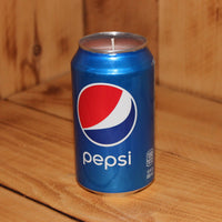 Hand Poured Soy Candle in Handmade Upcycled Pepsi Cola Soda Can