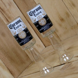 Upcycled Corona Beer Redneck Wine Glass Chalice