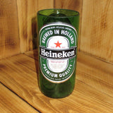 Upcycled Heineken Pint Glass