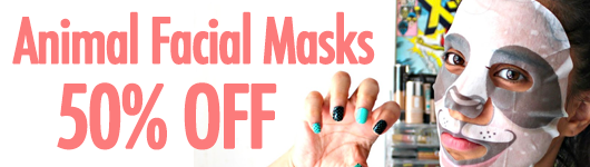 Animal Facial Masks FREE SHIPPING