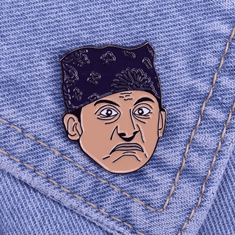 Free Prison Mike Michael Scott The Office Enamel Pin Just Pay Shipping