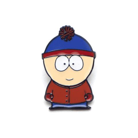 Free Stan Marsh South Park Enamel Pin Just Pay Shipping
