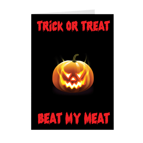NSFW Adult Halloween Greeting Card