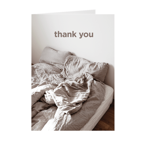 Hilarious Cute Thank You Greeting Card