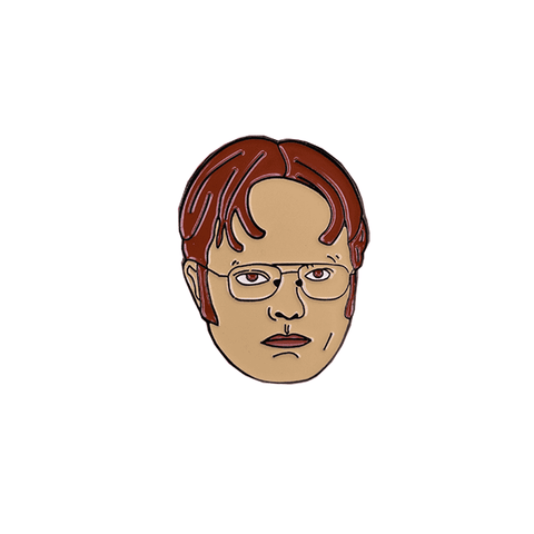 Free Serious Dwight Schrute The Office Enamel Pin Just Pay Shipping