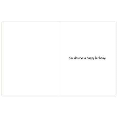 Extra Large Funny Birthday Greeting Card