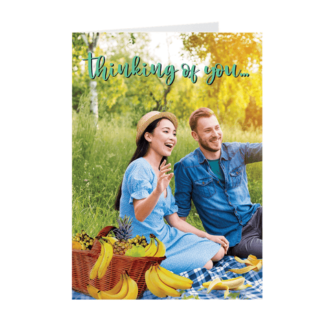 Hilarious Thinking of You 😉 Greeting Card