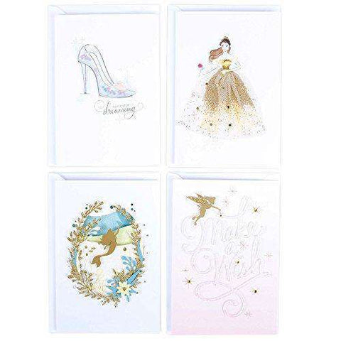 Hallmark Signature Birthday Cards Assortment Disney Princess 4 Unwelcome Greetings