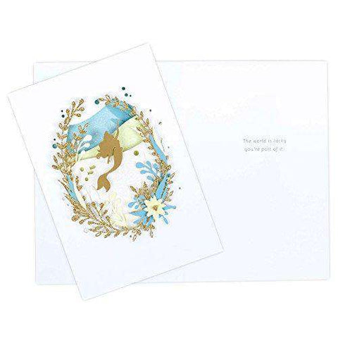 graphic about Disney Printable Envelopes identified as Hallmark Signature Birthday Playing cards Variety (Disney Princess, 4 Playing cards with Envelopes) - Amusing Birthday Playing cards - Absolutely free Delivery