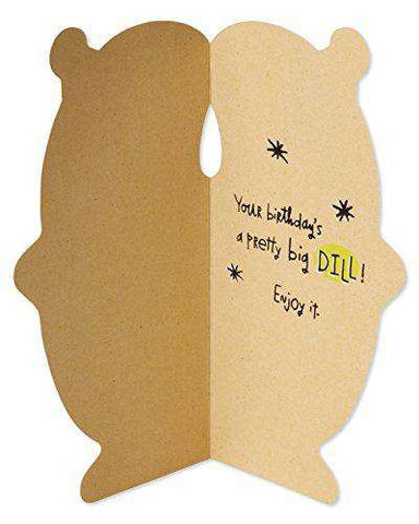 American Greetings Funny Pickle Birthday Card With Googly Eye