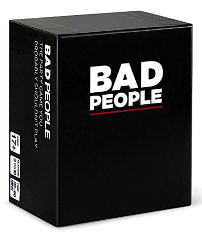 Bad People: The Party Card Game You Probably Shouldn't Play FREE US SHIPPING