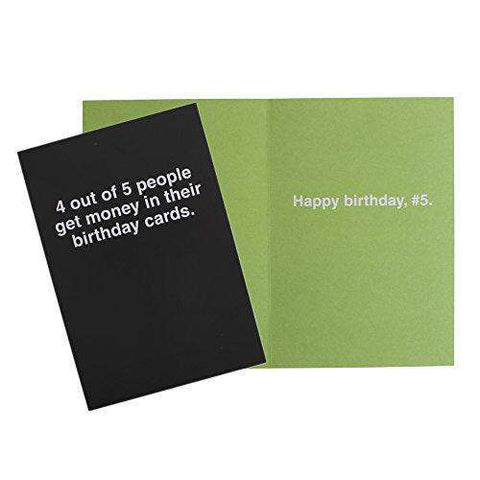 Hallmark Shoebox Funny Birthday Cards Assortment 5 With Envelopes