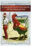 Big Cock' Card - Funny Merry Christmas Greeting Card - Free Shipping