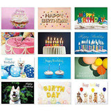 Happy Birthday Cards, 36 Birthday Cards Assortment for Every Occasion, Funny Birthday Card - Free Shipping
