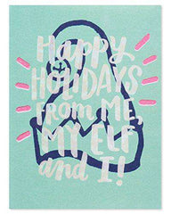 American Greetings Funny Christmas Card - Christmas Cards - Greetings Cards - Free Shipping