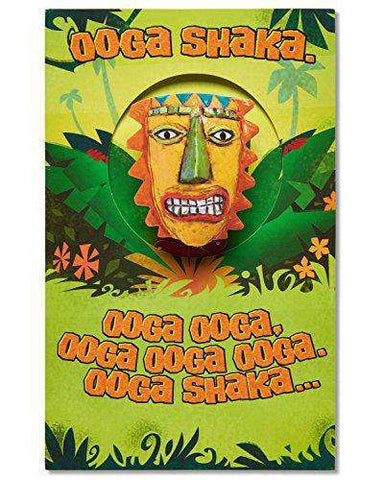 American Greetings Funny Ooga Shaka Birthday Card - Free Shipping