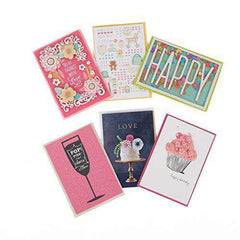 Hallmark Signature All Occasion Card Assortment with Lucite Organizer-Birthday Cards, Wedding, Anniversary Cards - Funny Birthday Cards - Free Shipping