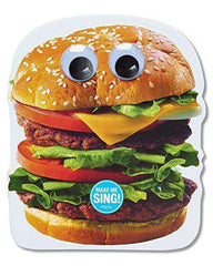 American Greetings Funny Hamburger Birthday Card - Free Shipping