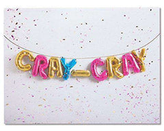 American Greetings Funny Cray Cray Birthday Card - Free Shipping