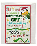 American Greetings Funny Santa's Beard Christmas Card with Foil, Funny Christmas Cards - Free Shipping