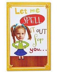 American Greetings Funny Spelling Bee Birthday Card - Free Shipping