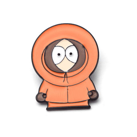 Free Kenny McCormick South Park Enamel Pin Just Pay Shipping