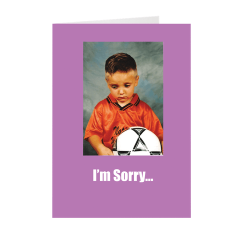 Funny Not Actually Sorry Greeting Card