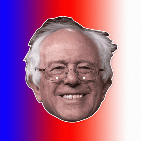Bernie Sanders Mask - Perfect for Halloween, Costume Party Mask, Masquerades, Parties, Festivals, Concerts - Jumbo Size Waterproof Laminated Mask
