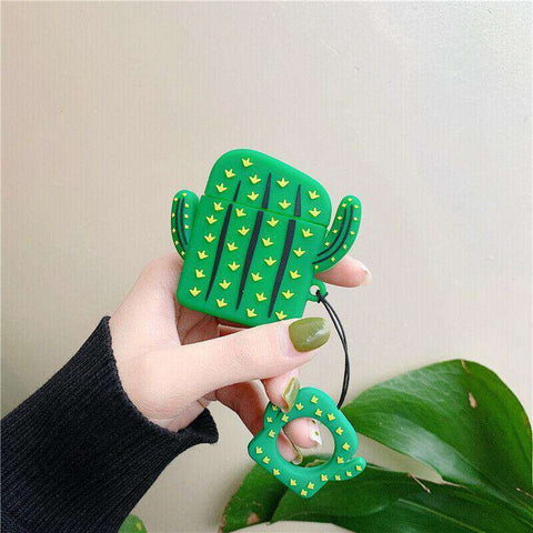 Cactus Plant Apple Airpods Case FREE SHIPPING