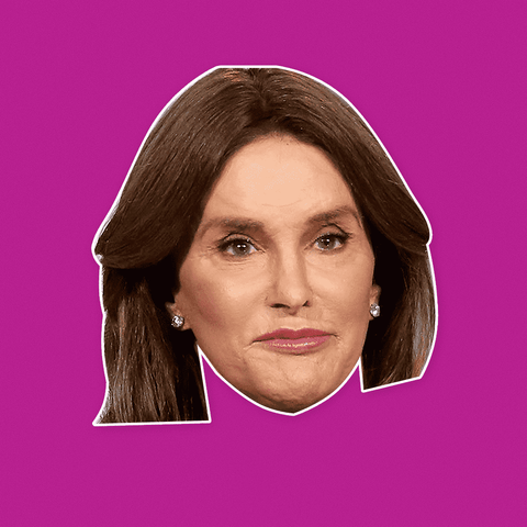 Caitlyn Jenner Mask - Perfect for Halloween, Costume Party Mask, Masquerades, Parties, Festivals, Concerts - Jumbo Size Waterproof Laminated Mask