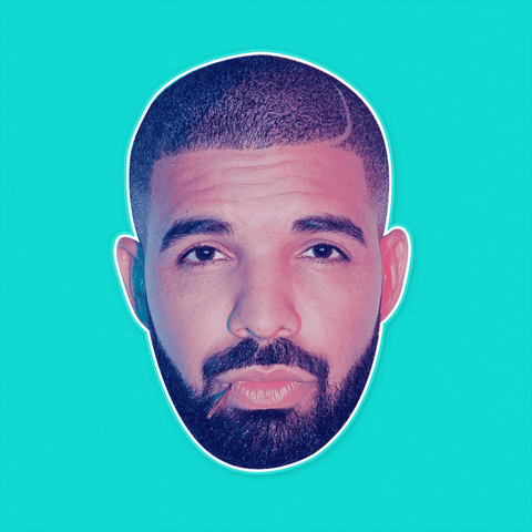 Sexy Hotline Bling Drake Mask - Perfect for Halloween, Costume Party Mask, Masquerades, Parties, Festivals, Concerts - Jumbo Size Waterproof Laminated Mask